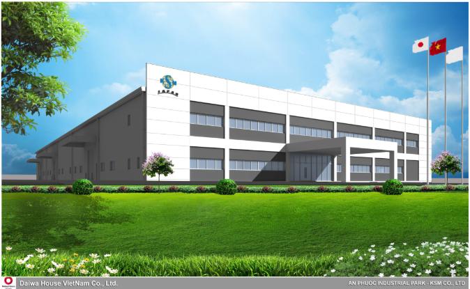 Nhà xưởng KSM - Nhật Bản - Công Ty Cổ Phần Đầu Tư Xây Dựng Thương Mại  TRADECO